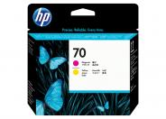HP 70  -  yellow, magenta
