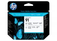 HP 91  -  light grey, photo black