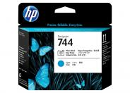 HP 744  -  cyan, photo black