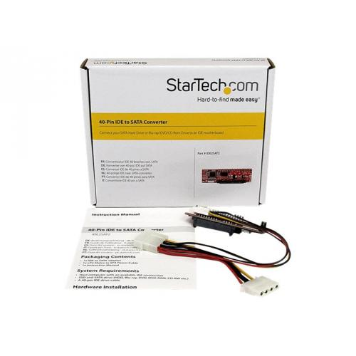 StarTech.com IDE to SATA Hard Drive or Optical Drive Adapter Converter
