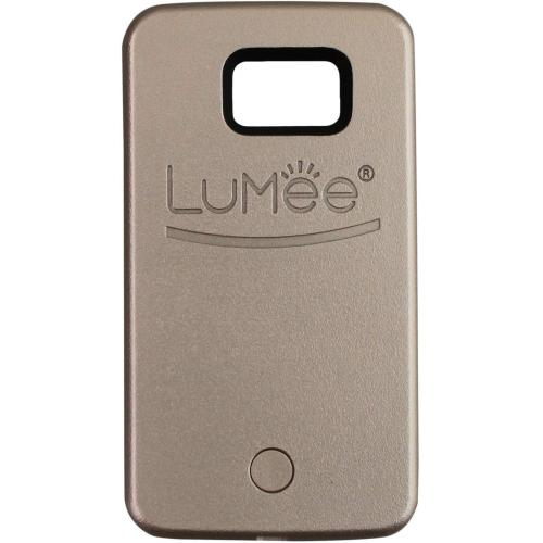 LuMee LED Rose Gold Case for Samsung S6