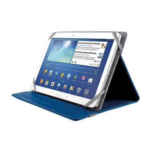 Trust Verso Universal Folio Stand (blue) For 10 Inch Tablets