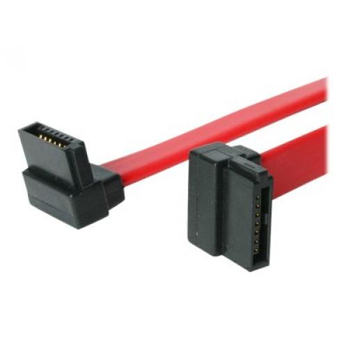 StarTech.com 18in Right Angle SATA Cable