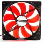 Prolimatech Red Vortex Red Wings Red Led 120mm Fan