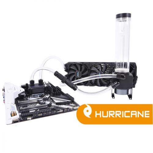 Alphacool Eissturm Hurricane Copper 360mm Water Cooling Kit
