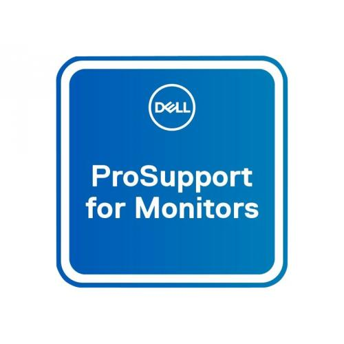 Dell Upgrade from 3Y Advanced Exchange to 3Y ProSupport for monitors