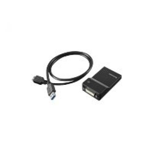 Lenovo USB 3.0 to DVI/VGA Monitor Adapter