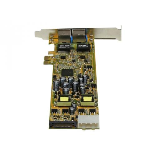 StarTech.com Dual Port PCI Express Gigabit Ethernet PCIe Network Card Adapter