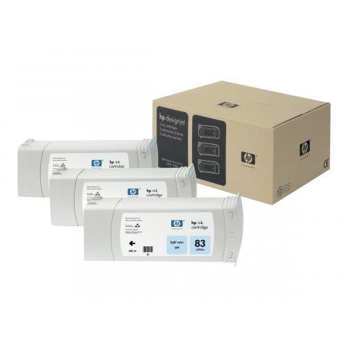 HP 83  -  3-pack