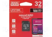 32gb M1aa Sdhc/xc Card Class 10 Uhs-i + Adapter