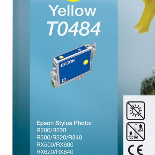 Epson Compatible Ink T0484 Yellow