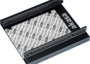 "Akasa Dual SSD Mounting Kit Frame to Fit 2 x 2.5"" SSD or HDD into a 3.5"" Drive Bay"