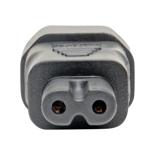 Tripp Lite IEC C14 to IEC C7 Power Cord Adapter