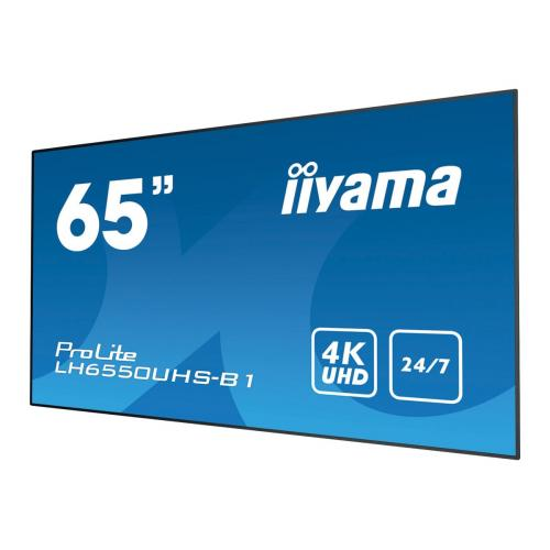 "iiyama ProLite LH6550UHS-B1 65"" Class (65"" viewable) LED display"