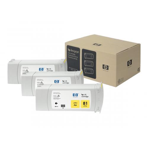 HP 81  -  3-pack