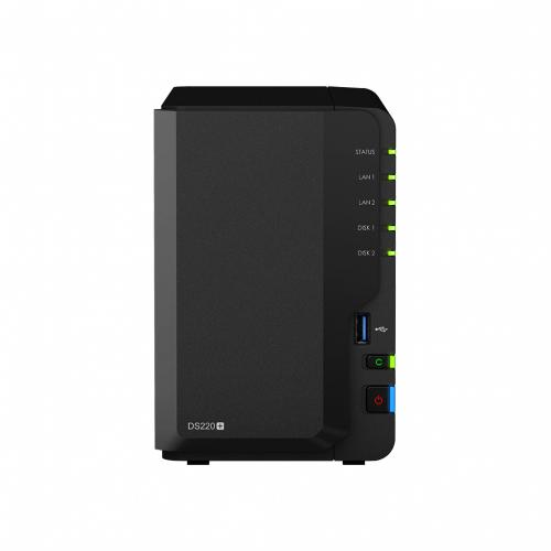 Synology DS220+/2TB RED 2 Bay Desktop