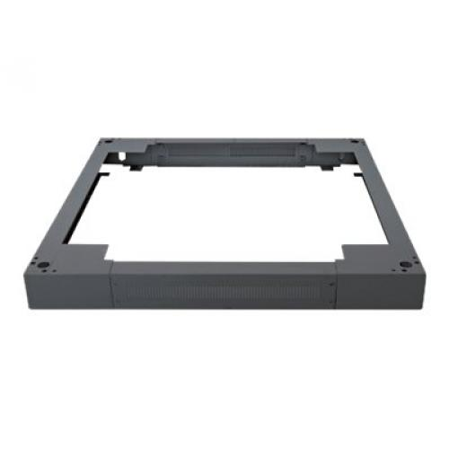 "Intellinet 19"" Plinth, 90 (h) x 600 (w) x 800 (d) mm, Black rack plinth"