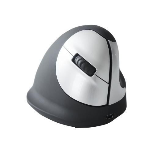 R-Go HE Mouse Ergonomic mouse, Medium (165-195mm), Right Handed, wireless