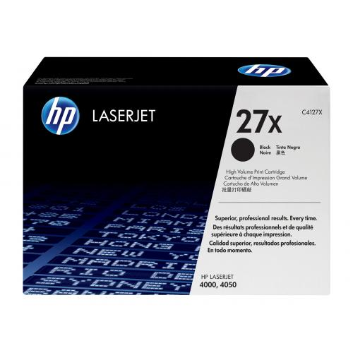 HP 27X  -  High Yield