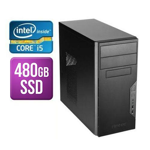 Spire Tower Pc Antec Vsk3000b I5-8400 8gb 480gb Ssd Corsair 450w Dvdrw Kb & Mouse No Operating System