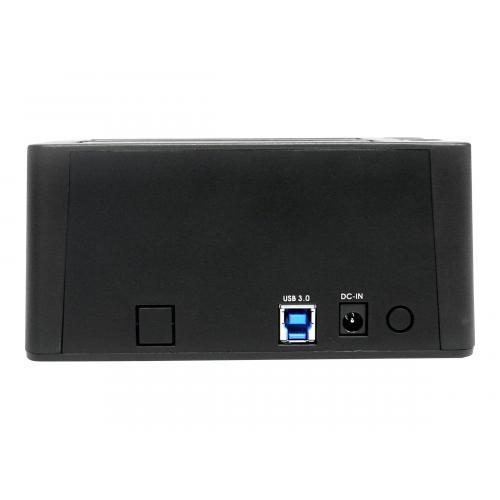 StarTech.com USB 3.0 Dual Hard Drive Docking Station with UASP for 2.5 / 3.5in HDD / SSD