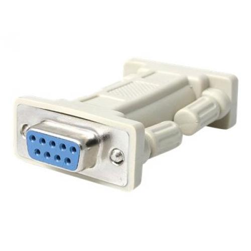 StarTech.com DB9 RS232 Serial Null Modem Adapter