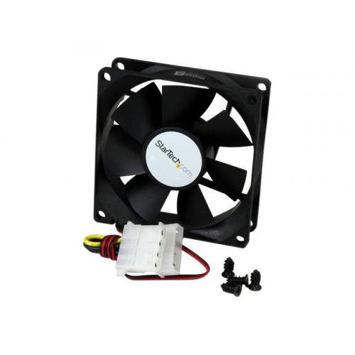 StarTech.com 80x25mm Dual Ball Bearing Computer Case Fan w/ LP4 Connector system fan kit