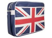 "Urban Factory Vintage Messenger Laptop Bag 12.5"" UK Flag notebook carrying case"