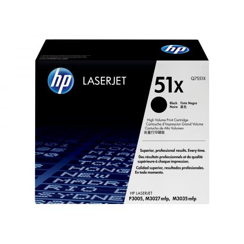 HP 51X  -  High Yield