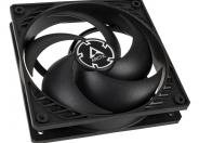 Arctic P12 Pressure Optimised 12cm Case Fan Black Fluid Dynamic. 6 Year Warranty