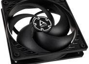 Arctic P12 12cm Pressure Optimised Pwm Pst Case Fan Black Fluid Dynamic 10 Year Warranty