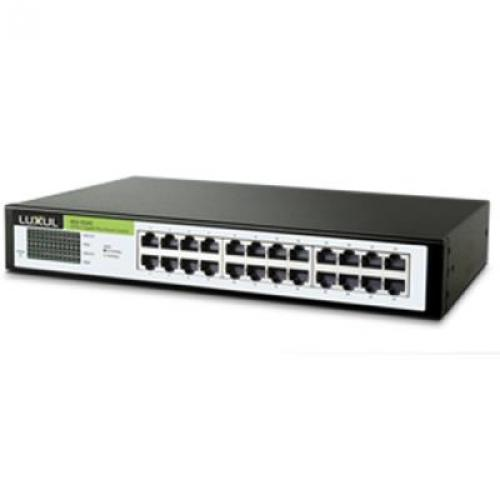 Xgs 1024s Unmanaged 24 Ports Rj45 Flex Mount Switch