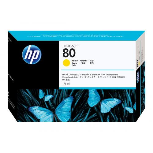 HP 80  -  yellow