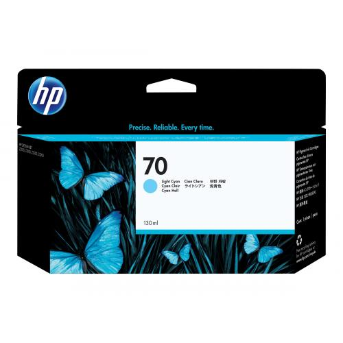 HP 70  -  light cyan
