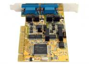 StarTech.com 2 Port RS232 422 485 PCI Serial Adapter Card w/ ESD