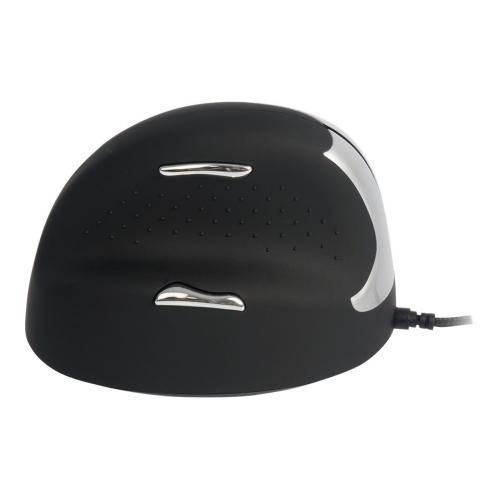 R-Go HE Mouse Ergonomic Mouse, Medium (165-195mm), Left Handed, wired