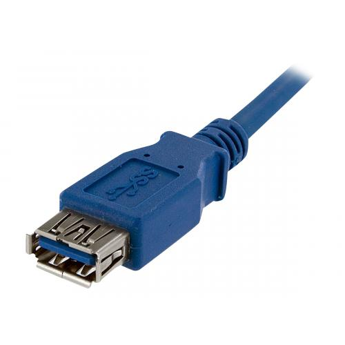 StarTech.com 1m Blue SuperSpeed USB 3.0 Extension Cable A to A