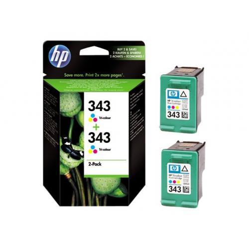 HP 343  -  2-pack