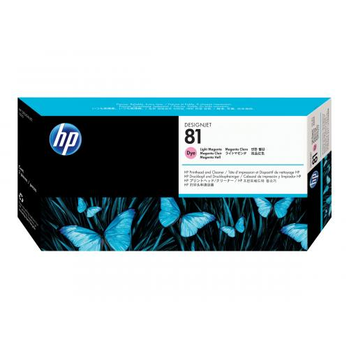 HP 81  -  dye-based light magenta
