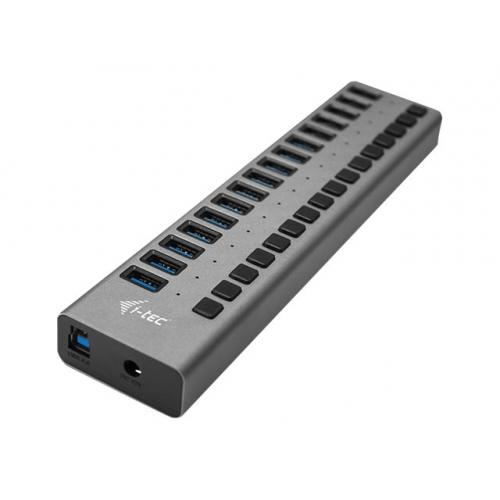 i-Tec USB 3.0 Charging HUB 16 port + Power Adapter 90 W