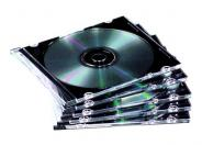 Fellowes storage CD/DVD slim jewel case