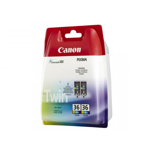 Canon CLI-36 Twin Pack
