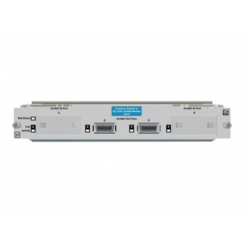 HPE Switch yl 10-GbE 2P CX4 + 2P X2 Module