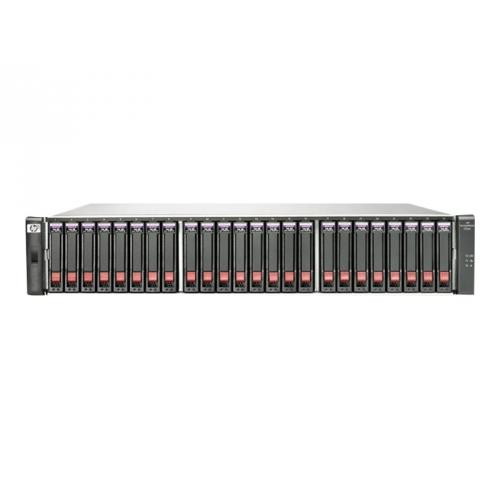 HPE Modular Smart Array P2000 G3 10GbE iSCSI Dual Controller SFF Array System
