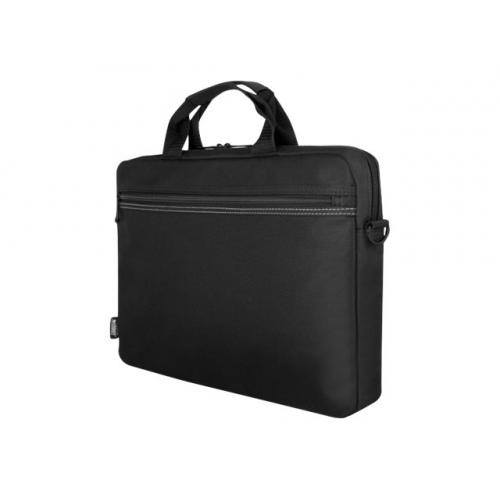 "Urban Factory TopLight Toploading Laptop Bag 15.6"" Black notebook carrying case"