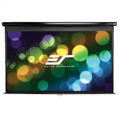 "135"" Manual Pull Down Projector Screen"