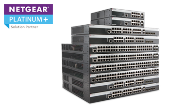 Netgear Switches and Wireless - Platinum+ Solution Partner