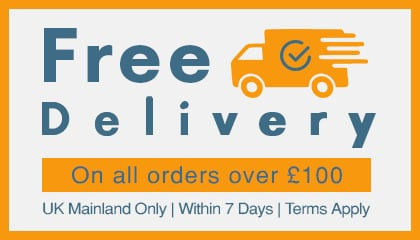 Free Delivery - on Orders over £100