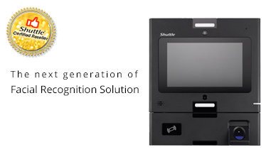 Shuttle Facial Recognition solution - Certified Reseller