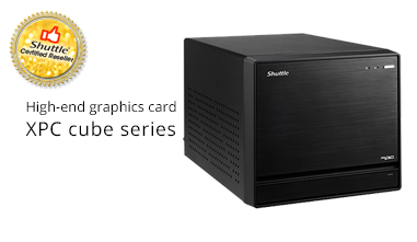 Shuttle mini-servers expanded storage - Certified Reseller